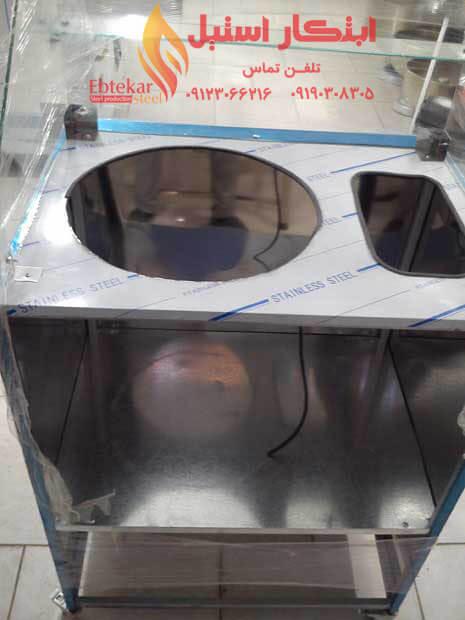 دستگاه ذرت مکزیکی بدنه استیل | خرید دستگاه ذرت مکزیکی | دستگاه ذرت مکزیکی